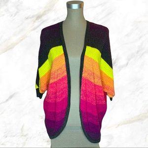 AEO | Ombre Multicolour Knit Cardigan